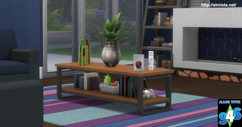 Russo Coffee Table Simista A Little Sims 4 Blog