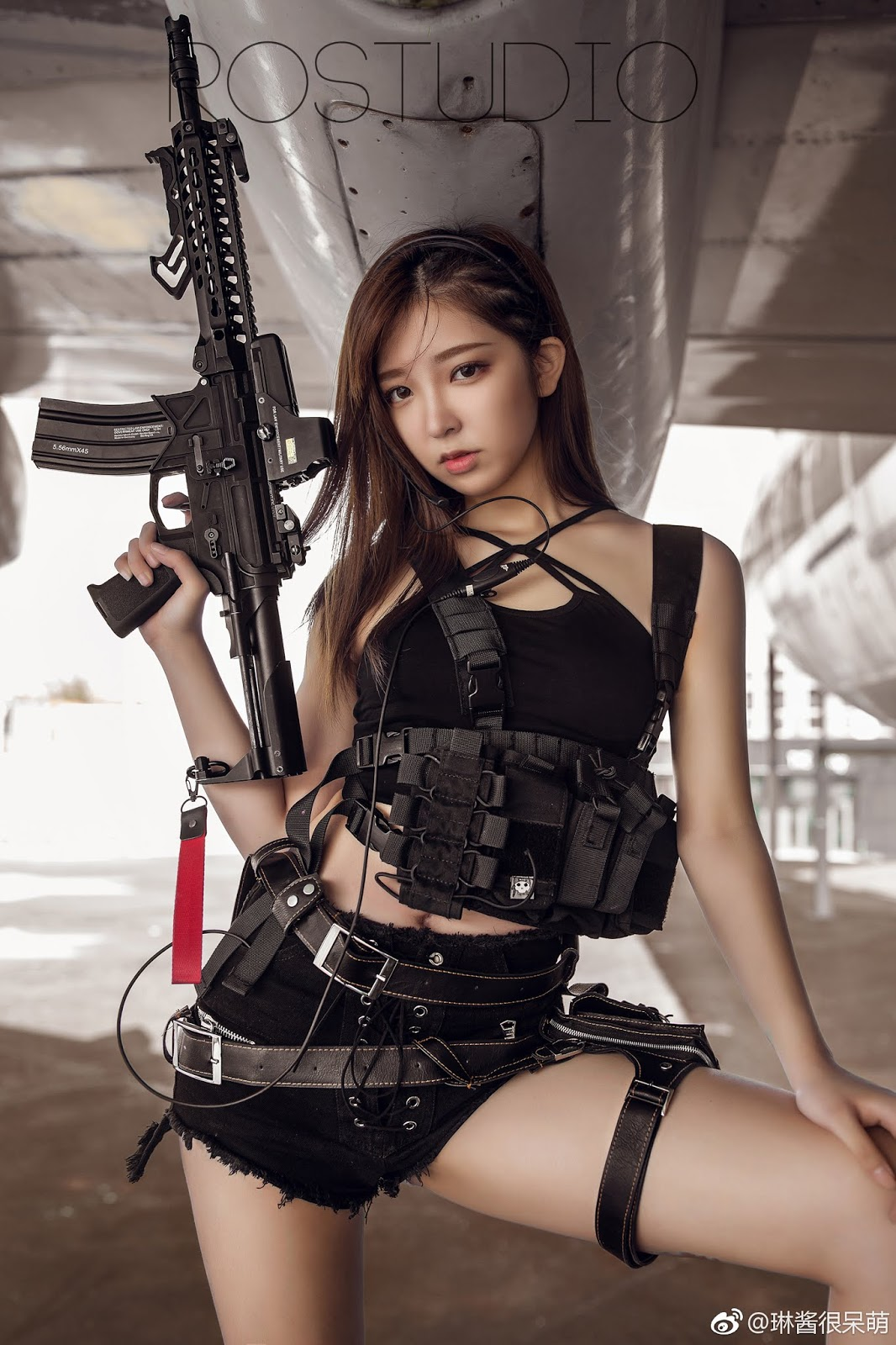 Asian girl gun movie