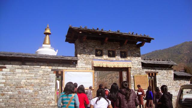 Thimpu Chorten, Thimpu, Bhutan