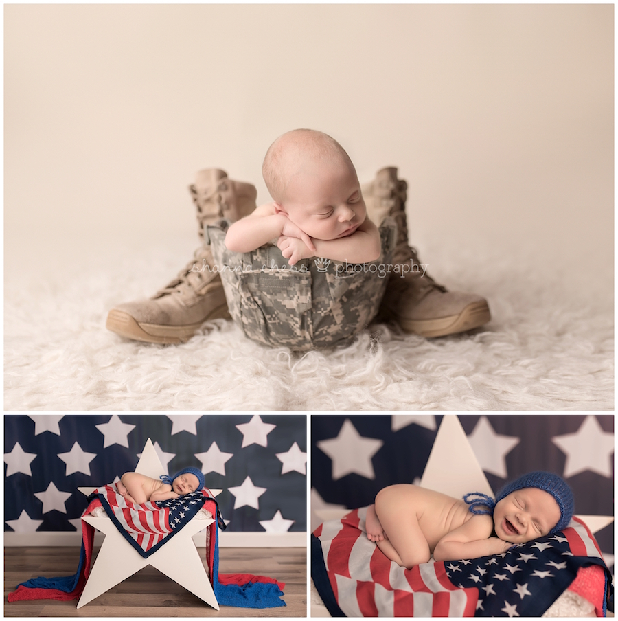 eugene oregon newborn photographer military