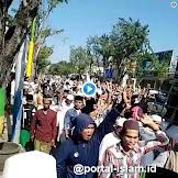 Warga Madura Demo KPU Tuntut Jokowi Turun