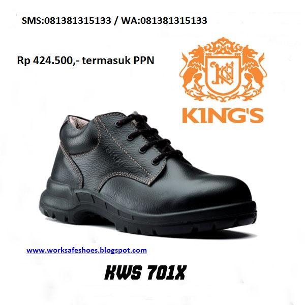 Sepatu Safety Merk Kings 6993713309