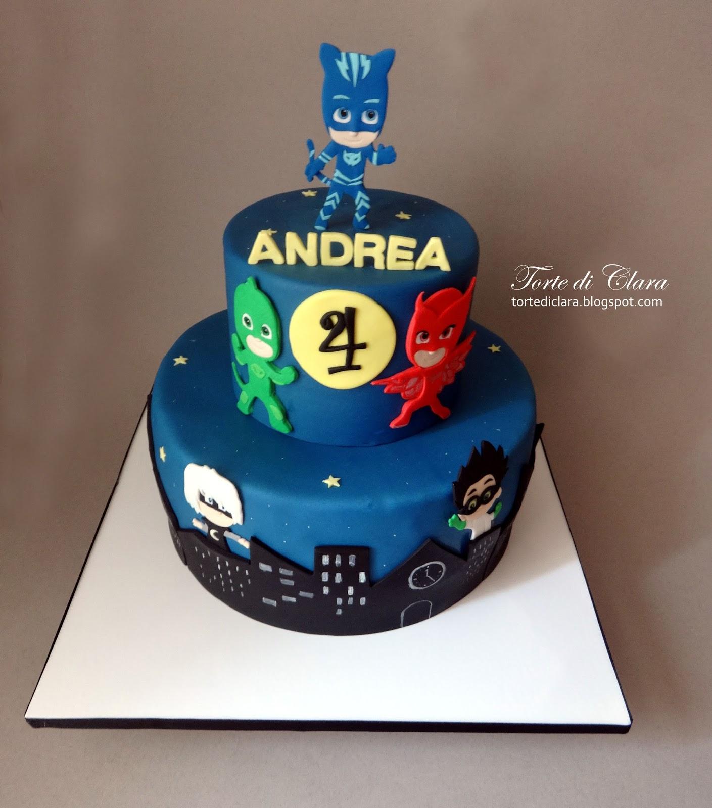 Cartoon Cake Monster