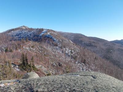 Randonnée Jay mountain Adirondaks, crête et sommets