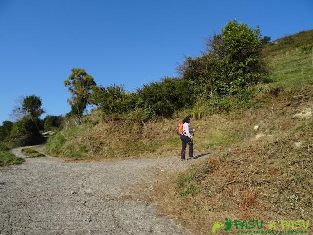 Giro subiendo por la Ruta de las Cercanías del Cielo