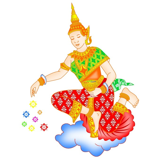 Khmer Angel, khmer graphic vector 2 free png file