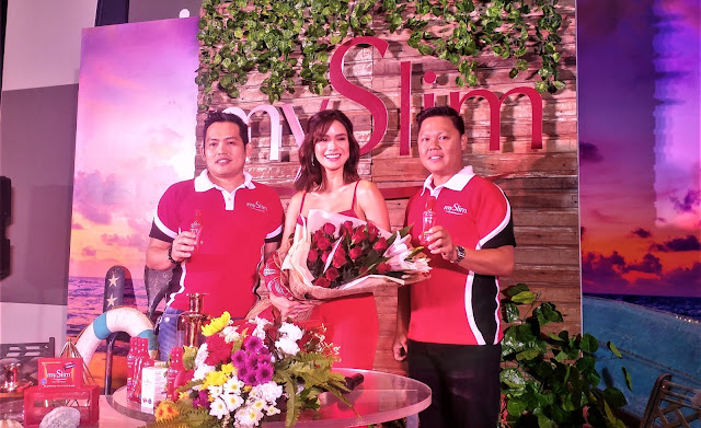 mySlim launches Erich Gonzales as the new ambassador