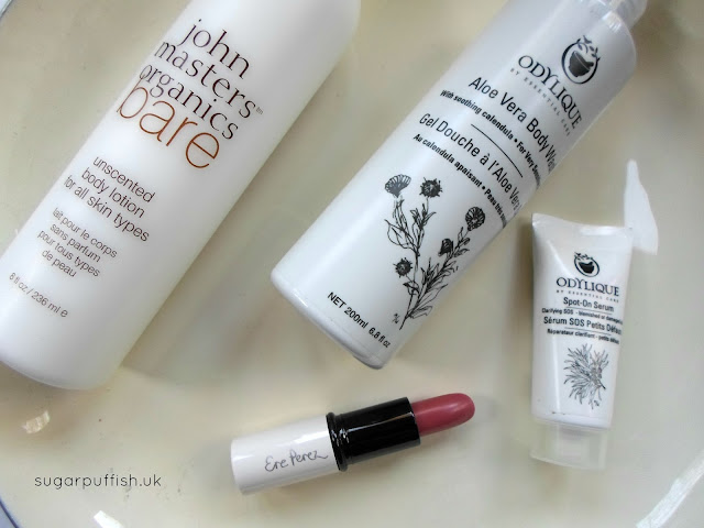 Monthly Mini Reviews: December Green Beauty Products from Love Lula Odylique Ere Perez John Masters