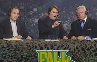 WCW Fall Brawl 1998 - Mike Tenay, Tony Schiavone, and Bobby 'The Brain' Heenan
