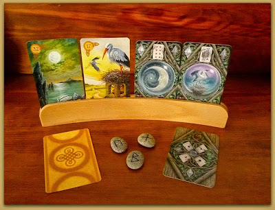 3x3x3 Divination tag Others Celtic Lenormand, The Enchanted Lenormand, Runes