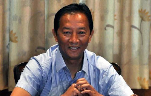 Gorkhaland Territorial Administration BOA Chief Binay Tamang