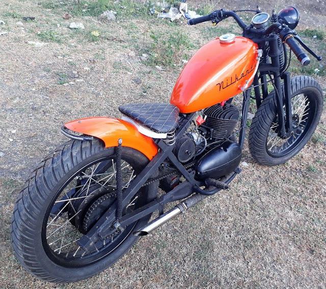 Kamandalam Bobber by Nilkantha Motorcycles