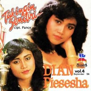 Dian Piesesha -Tak Pernah Rela (Karaoke)