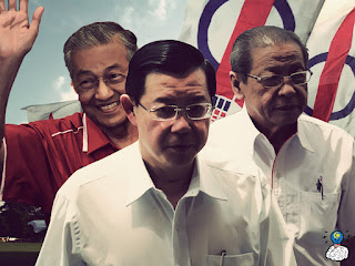 Mahathir dan Guan Eng Berpakat Bohongi Rakyat