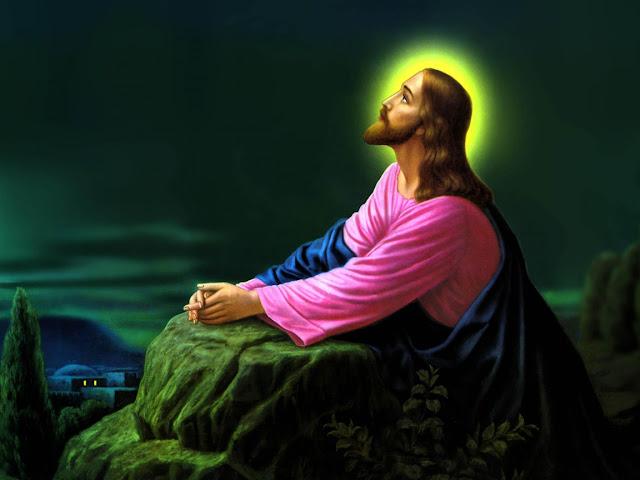 download besplatne pozadine za desktop 1152x864 čestitke Happy Easter blagdani Uskrs Isus Krist molitva Getsemanski vrt