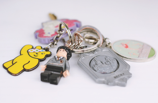 Cute keyrings