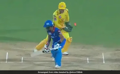 IPL 2019 CSK vs DC: MS Dhoni blows away with a blink of a wicket