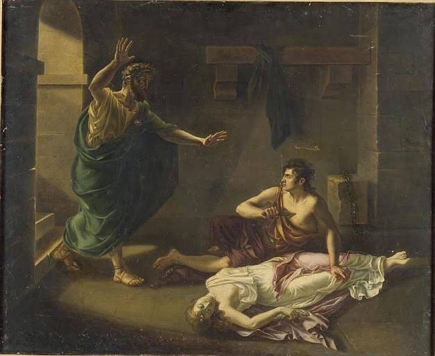 La Mort d'Antigone, Victorine-Angélique-Amélie Rumilly