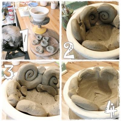garten keramik wie macht man denn nur. Black Bedroom Furniture Sets. Home Design Ideas