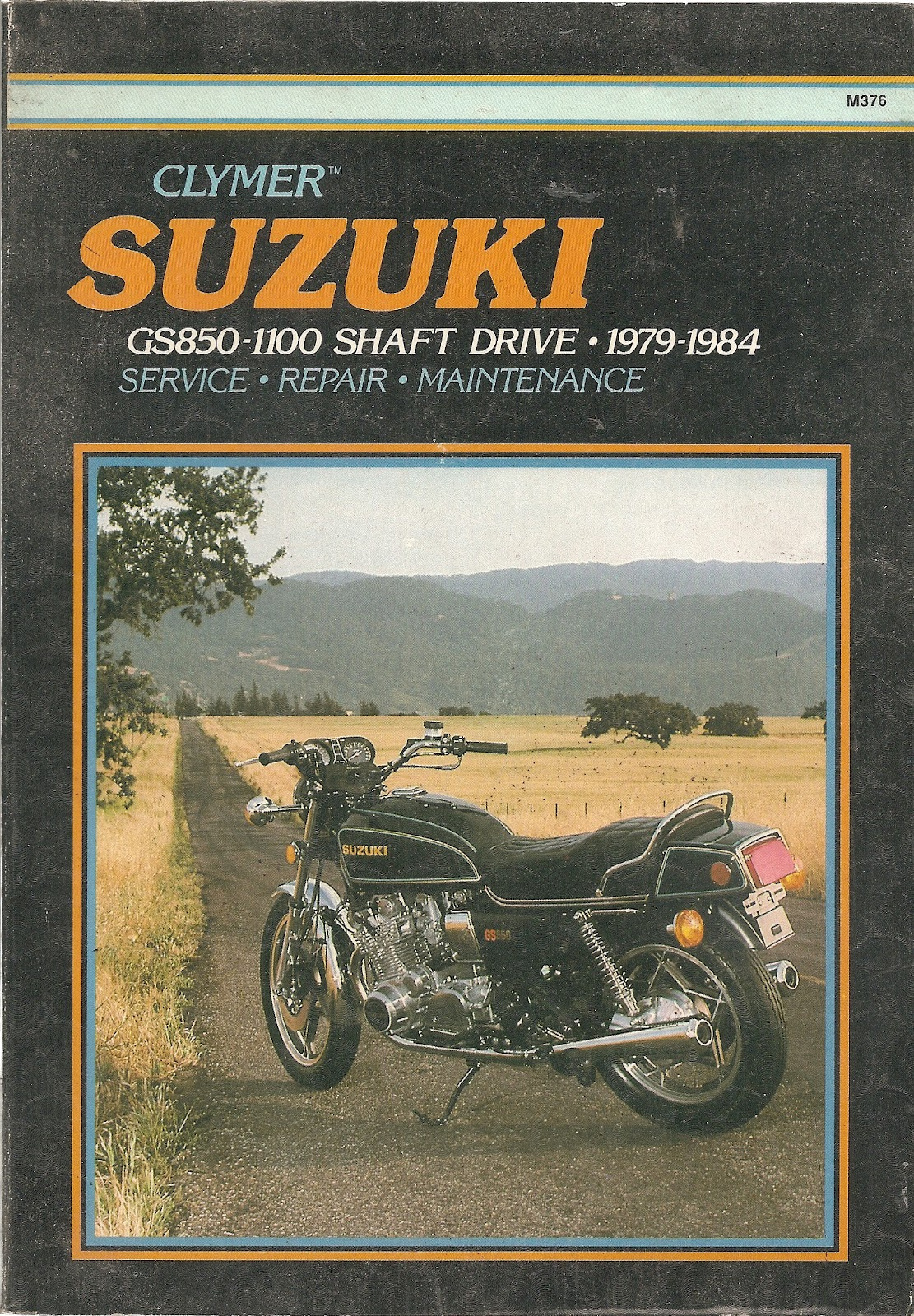 repair manuals 1983 gs1100e