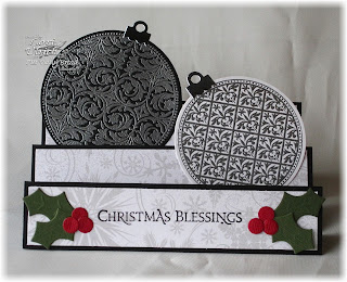 Stamps - Our Daily Bread Designs Vintage Pattern Ornaments, ODBD Custom Circle Ornaments Die, ODBD Christmas Paper Collection 2013
