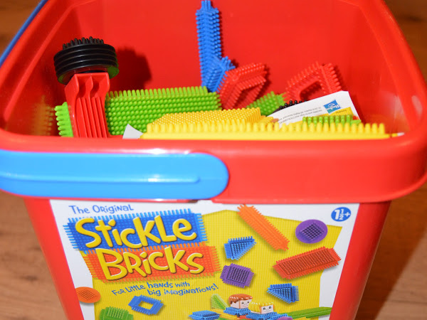 Stickle Bricks Big Red Bucket Review