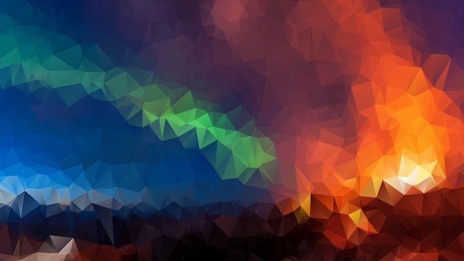 Abstract Colorful Polygon 8k 7680x4320 Wallpaper 31