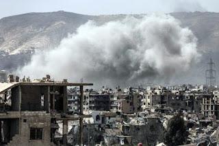 Pejuang Suriah Lancarkan Serangan Baru ke Damaskus