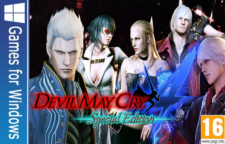 Devil May Cry 4 Special Edition gamerzidn