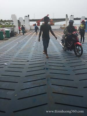 Thông tin Phà Thạnh Thới chở xe gắn máy từ Hà Tiên sang Phú Quốc
