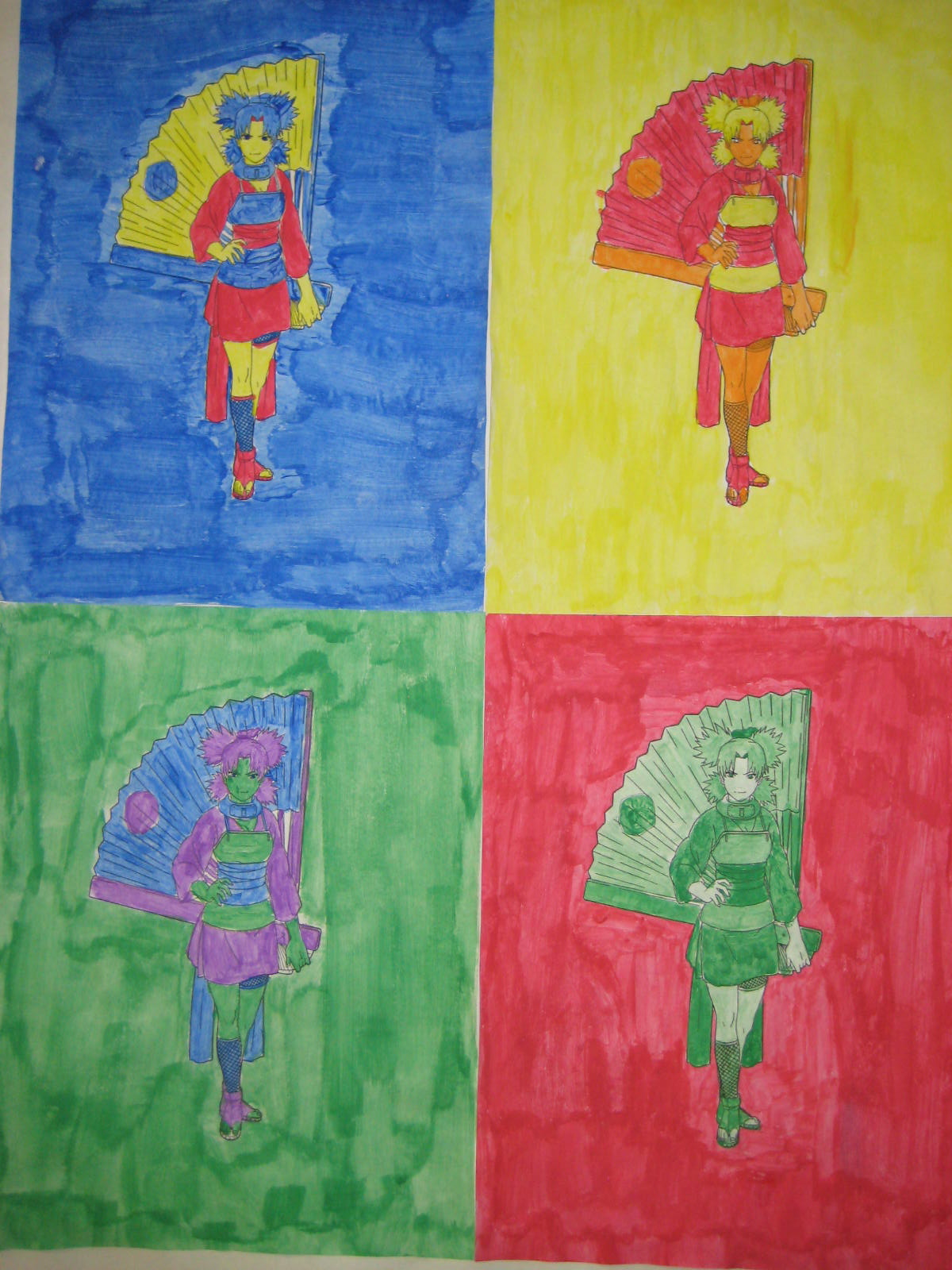 Andy Warhol Color Scheme Paintings Mrs Clegg S Class Blog