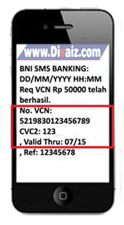 Request VCN BNI 3