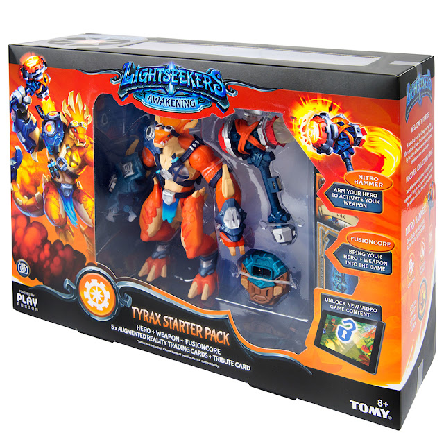 The Lightseekers Tyrax Starter Pack