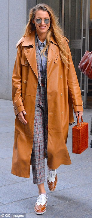Blake Lively dazzles as she steps out in Manhattan