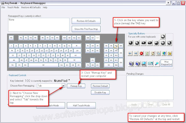 keyboard remaping software