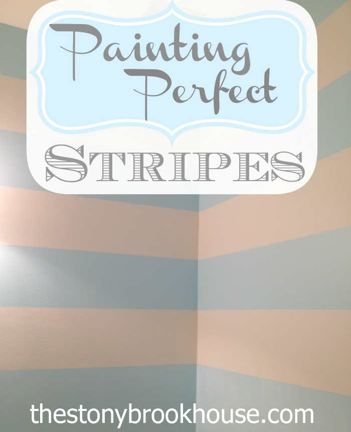 Painting Perfect Stripes