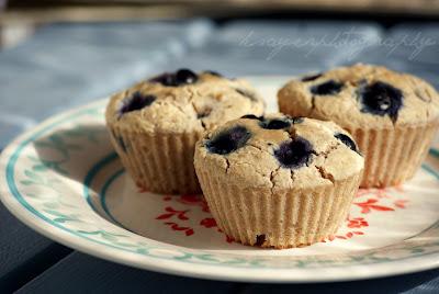 Gluten Free Blueberry Ricotta Muffins