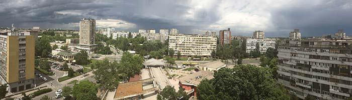 Panorama Fontane Novi Beograd, iPhone 6s sa NH1