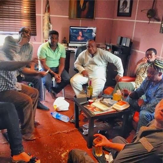 debayo Salami, Jide Kosoko, Muyiwa Ademola, Kunle Afolayan