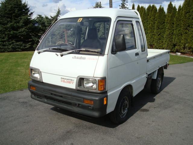 j cruisers jdm vehicles parts in canada 1991 daihatsu hijet jumbo mini truck for sale in bc canada. Black Bedroom Furniture Sets. Home Design Ideas