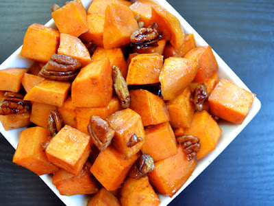 sweet potatoes ginger honey