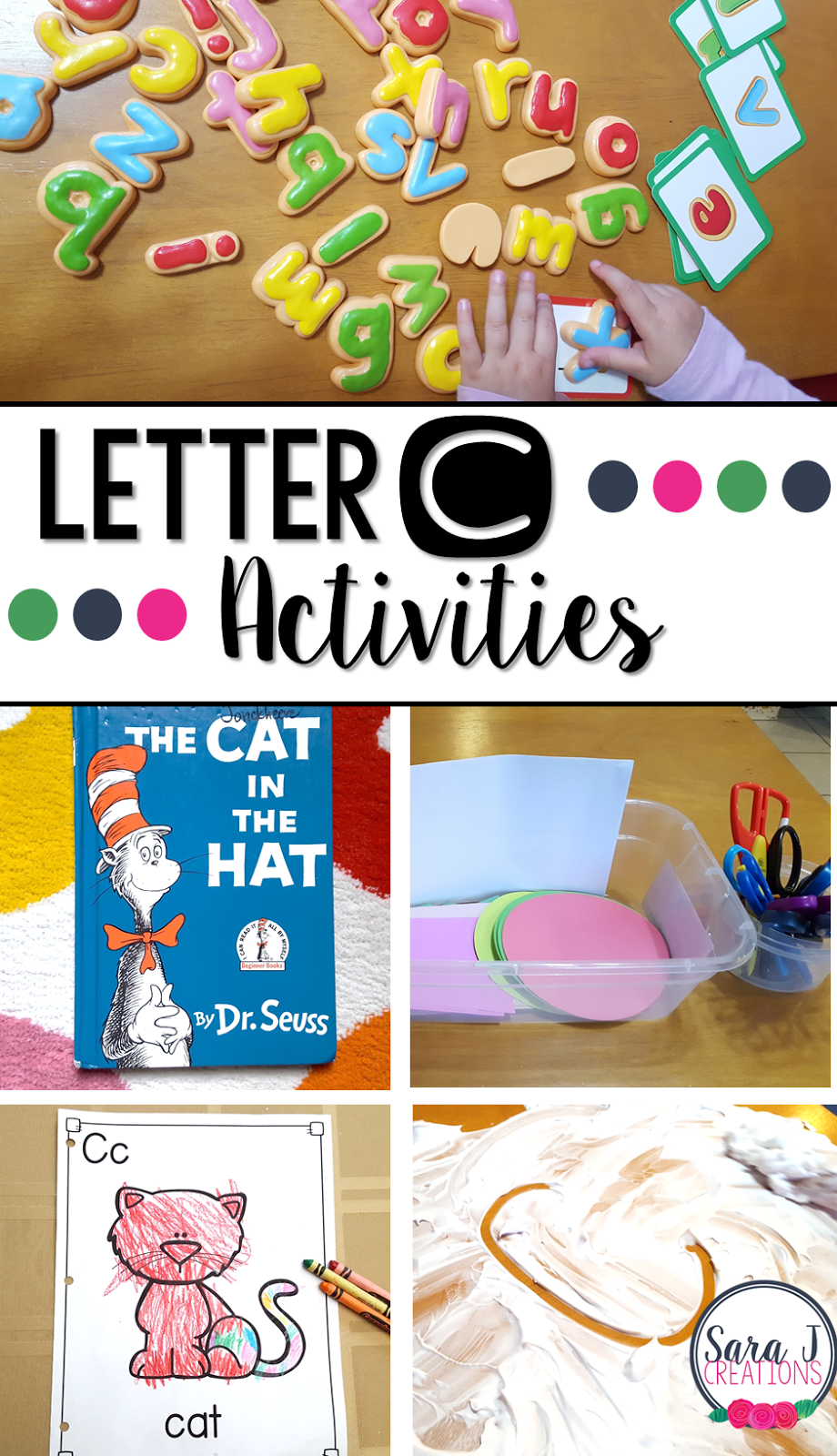 letter c activities sara j creations