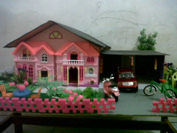 Miniatur Rumah Dari Kardus Bisa Jadi Kado Spesial Untuk si