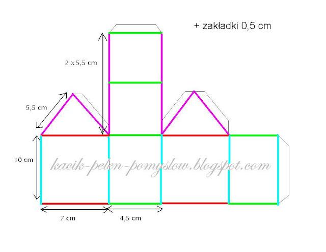 jak zrobić domek z papieru