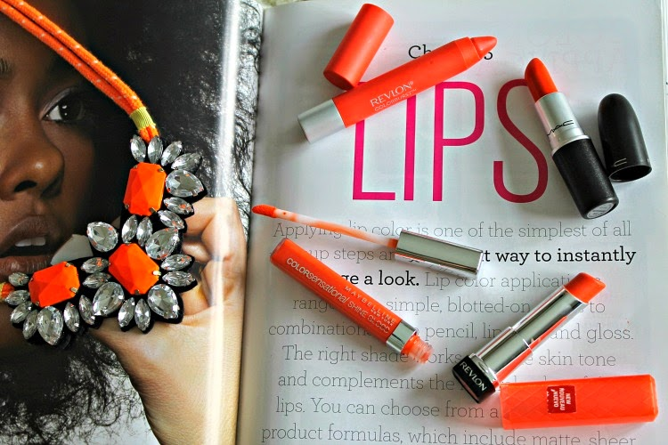 4 Ways To Wear Orange Lips