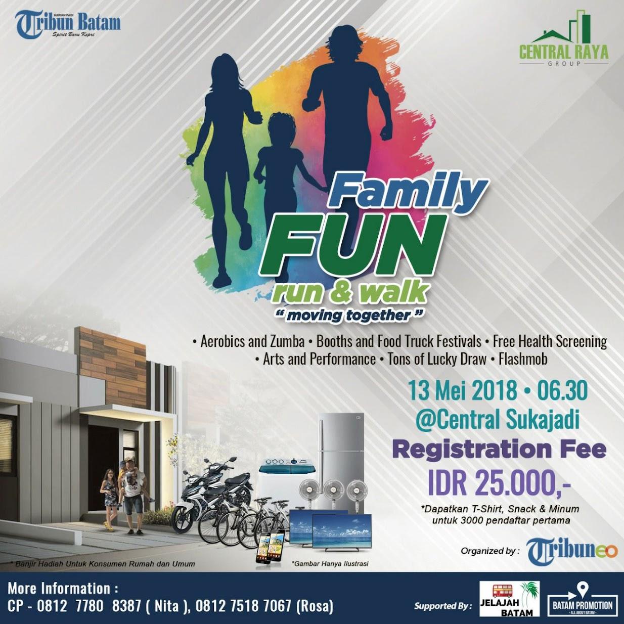 Family Fun Run & Walk • 2018