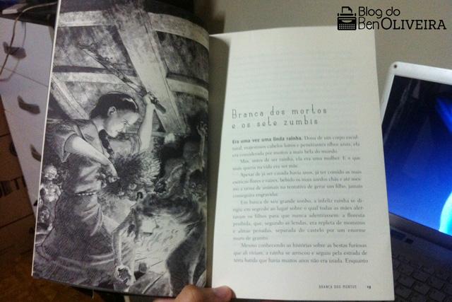 Livro Branca dos Mortos Sete Zumbis Fábio Yabu Editora Globo