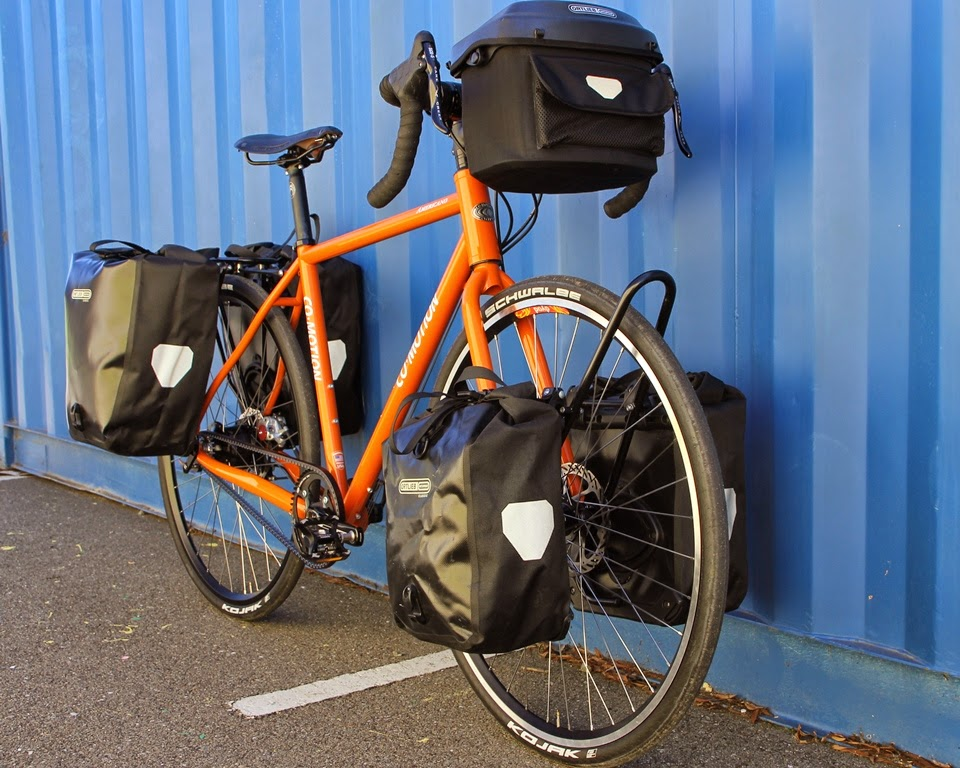 The Monkey Lab: Co-Motion Americano Touring Bike with Rohloff