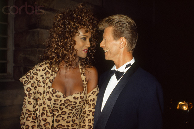 SUPERMODEL IMAN CELEBRATES 21 YEARS WEDDING ANNIVERSARY TO