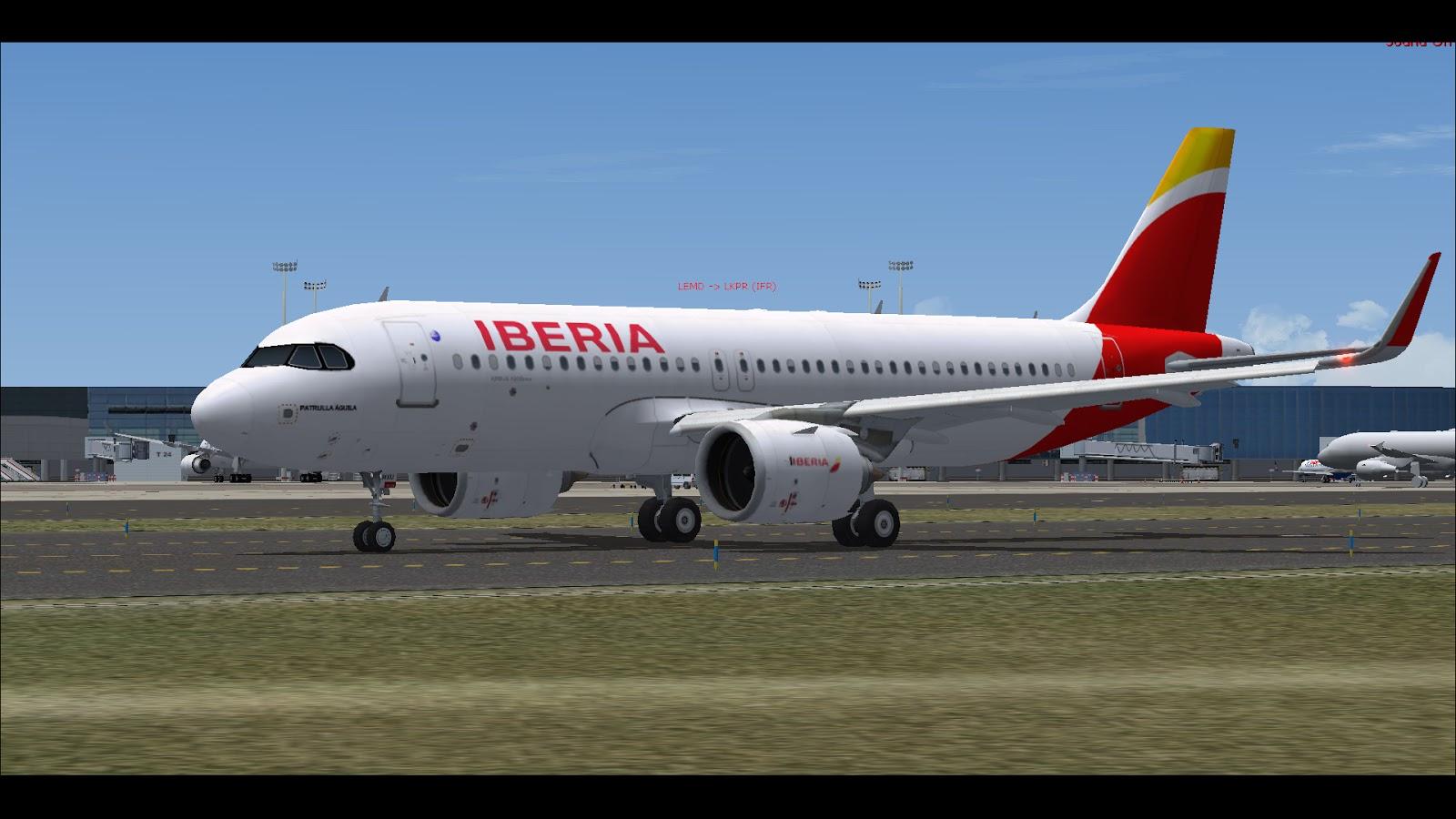 FSRepainter: FAIB A320-200Neo Iberia Airlines